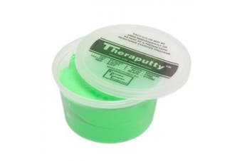 (180ml, Green: Medium) - Cando Theraputty Hand Exercise Putty