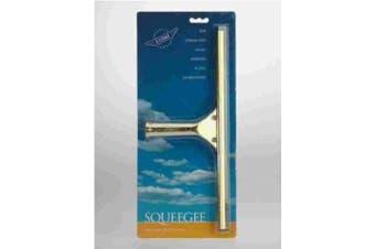 Ettore 10014 Solid Brass Window Squeegee