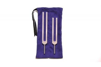 C & G Tuning Forks - Body Tuners with Pouch