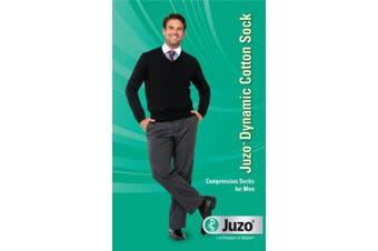 (V Reg, Khaki) - Juzo Dynamic Cotton Knee High Socks - 15-20 mmHg Khaki V Compression Knee High Socks Reg 3520ADFF03-V