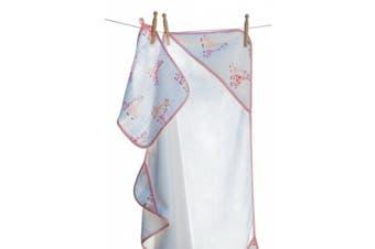 (Giraffe Girl) - Angel Dear Hooded Towel and Washcloth