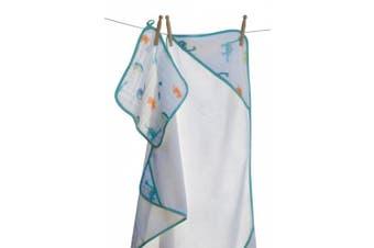 (Dinosaur) - Angel Dear Hooded Towel and Washcloth