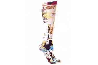 (Comic) - Celeste Stein Therapeutic Compression Socks, Comic, 8-15 mmhg, .180ml