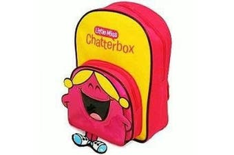 Mr Men - Little Miss Chatterbox Backpack with front Pocket