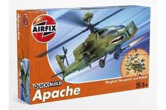 (Apache Helicopter) - Airfix Quickbuild Boeing Apache Aeroplane Model Kit