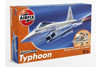 (Eurofighter Typhoon) - Airfix Quick Build Eurofighter Typhoon Aircraft Model Kit