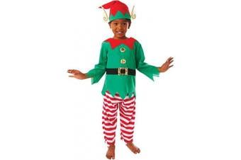 Christy's 995058 Little Elf Costume Set, 3 Pcs, 6-8 years