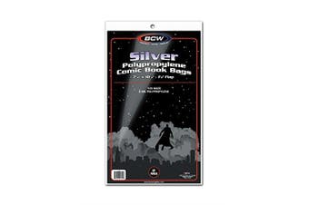 BCW Silver Comic Book Bags (100 ct.) [German Version]
