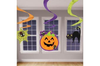 Amscan International Decoration Swirl Economy Pack Halloween
