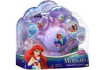 Disney Princess 61558 Jakks Pacific The Little Mermaid - Ariel's Bubble Blowing Tea Set