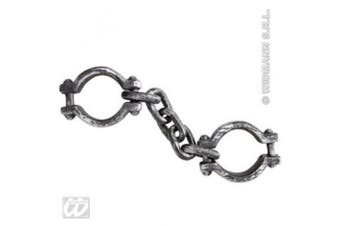 Shackles Accessory for Prisoner Convict Gaol Fancy Dress