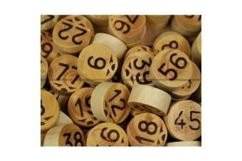 Wooden Bingo Chips
