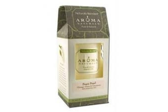(Peace Pearl, 6.4cm  x 10cm ) - Aroma Naturals - Peace Pearl Naturally Blended Pillar Eco