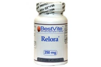 (120 Vegetarian Capsules) - Relora 250mg (120 Vegetarian Capsules) No Fillers - No Stearates - No Flow Agents