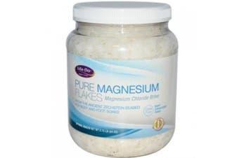 Life-Flo Health Care - Pure Magnesium Flakes 1300ml, 120ml flakes