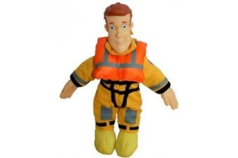 Fireman Sam 20cm Plush Collectables - Boat Rescue Sam