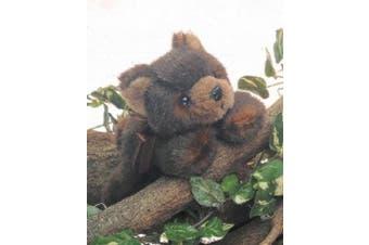 Plush Soft Toy Teddy Bear by Bearintons. Lazy Ben. 25cm.
