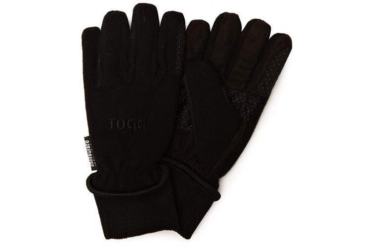 (L, Black) - Toggi Kempton Breathable Fleece Glove