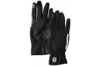 (Large) - eGlove eBike GelPro Touch Screen Cycling Gloves