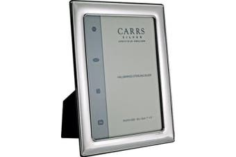 Carrs Silver Photo Frame 6 x 4 Wood Back can stand portrait and landscape