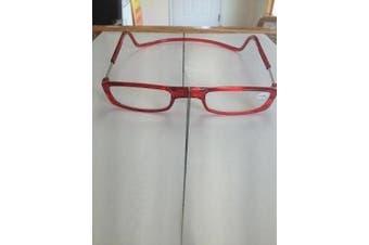 (2.75, BLACK) - Clic Magnetic Reading Glasses
