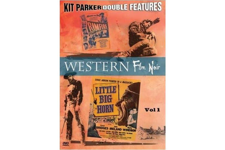 Western Film Noir, Vol. 1 (Little Big Horn / Rimfire) [Region 1]