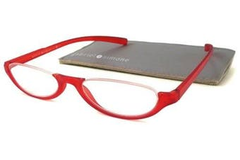 (+1.00, Red) - Gabriel + Simone Reading Glasses - Orsay Red / Red +1.00