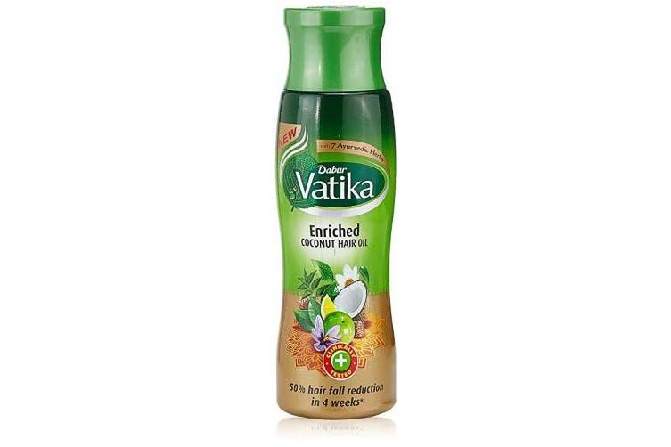 (Vatika Coconut Enriched Coconut, 300) - Vatika Naturals Enriched Coconut Hair Oil 300 ml
