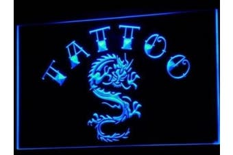 ADV PRO i700-b Tattoo Chinese Dragon Ink Open Neon Light Sign
