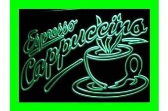 ADV PRO i220-g OPEN Espresso Cappuccino Coffee Cafe Light Signs