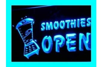 ADV PRO i264-b OPEN SMOOTHIES Drink Smoothie Neon Light Sign