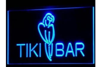 ADV PRO i331-b Tiki Bar Parrot OPEN Display NEW Neon Light Sign