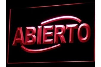 ADV PRO i535-r ABIERTO Food Cafe Restaurant NEW Neon Light Sign