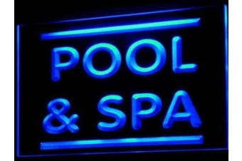 ADV PRO i609-b Pool & Spa Beauty Shop Salon Neon Light Sign