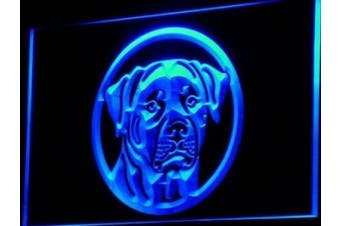 ADV PRO i684-b Rottweiler Dog Breed Pet Shop Neon Light Sign