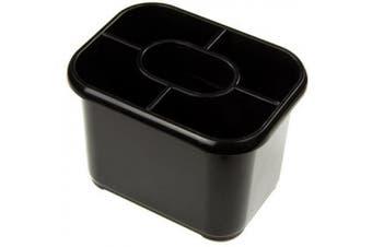 (Black) - Addis Essentials Cutlery Drainer - Black
