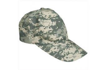 US Army Style Baseball Cap Military Combat Hat Hunting Fishing ACU Digital Camo