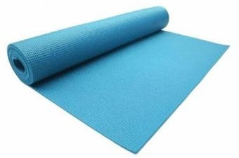 (Turquoise) - Lotus Design Yoga Mat TREND, 183 x 61 cm