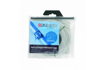 (1, White) - Brabantia Replacement Clothes Washing Line, 65 m