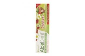 (50ml) - AloeDent Children's Strawberry Toothpaste - 50ml