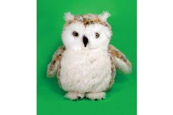 Premier Collection Plush Soft Toy Barn Owl. 20cm.