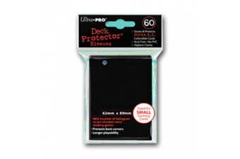 UP Deck Protectors Japan Black (60 ct.) [German Version]