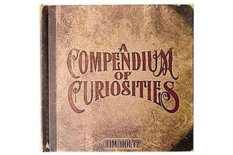 Advantus 1-Piece Tim Holtz Idea-Ology Book-A Compendium of Curiosities