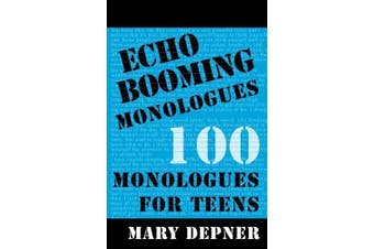 Echo Booming Monologues (Paperback)