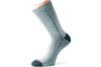 (Medium 6 - 8.5 UK, Grey) - 1000 Mile 2005 Lightweight Cricket Sock