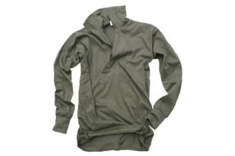 (Small) - GERMAN ARMY ISSUE BASE LAYER ZIP TOP