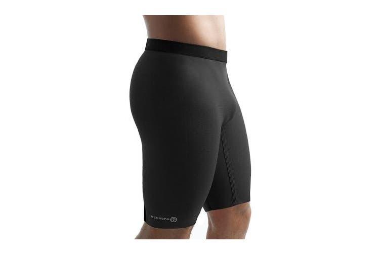 (X-Large, Black) - Rehband Mens Thermo Pants