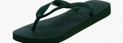 (41-42 EU, Amazonia) - Havaianas Unisex Top Flip Flops Size: 41-42 EUColour: Amazonia These Havaianas flip flops have the following features: The Havaianas Flip Flops Top are trendy light white flip flops for kids. Rubber foot sole with a rice grain pattern Rubber foot strap The text 'Havaianas' on the foot strap These flip flops are very comfortable. They are anti-slip and quickdry. Havaianas The brand Havaianas is founded is 1962. The design of the flip flops are inspired by the Zori, Japanese sandals. The rice grain pattern on those sandals are still used on the foot sole of the Havaianas. Flip flops have become part of the modern day culture. Tags: flip flops, flipflops.