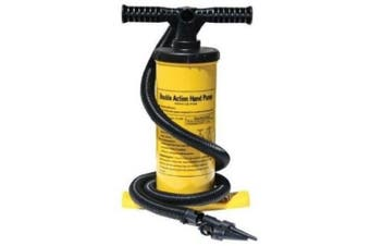 (yellow) - Advanced Elements Unisex Adult 2-Way AE Kayak Hand Pump with Pressure Gauge - ,