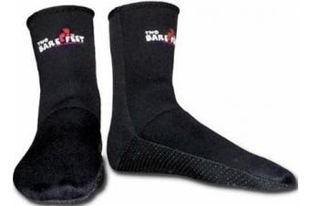 (Medium) - NEOPRENE wetsuit SOCKS by Mikes Diving - For use with boots dive surf sailing etc